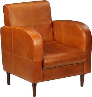 design de qualité 2ff2b 517a5 Amazon.fr : fauteuil cuir vintage -inox