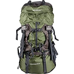 Wasing 55L internal frame backpack, ideal for your hiking adventure