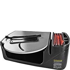 Made in the USA and designed to be used with a laptop in the vehicle and has file storage that is easily accessible at all times, making this an ideal tool for the mobile office Manufactured with a hidden storage compartment located underneath the wo...