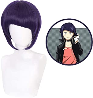 WerNerk My Hero Academia Character Play Cosplay Wigs Anime Hair Synthetic Hair (Jiro Kyoka)