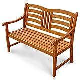 Gartenbank 2-Sitzer Montana Sitzbank aus Holz - 4