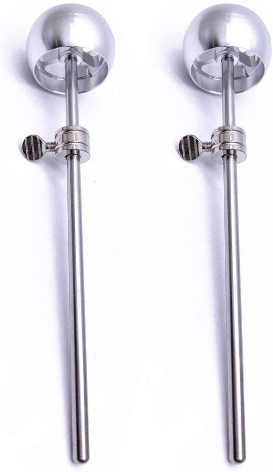 Jiayouy Challenge the lowest price of Japan 2 Pieces Bass Drum Pedal Beater Aluminum Alloy He Hammer Free shipping on posting reviews