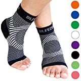 Plantar Fasciitis Socks with Arch Support, BEST Foot Care Compression...