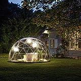 遊び心あふれるアウトドアドーム ガーデンイグルー 標準セット Garden Igloo 『温室、展望室、趣味の菜園、子供の遊び場、収納、庭小屋』