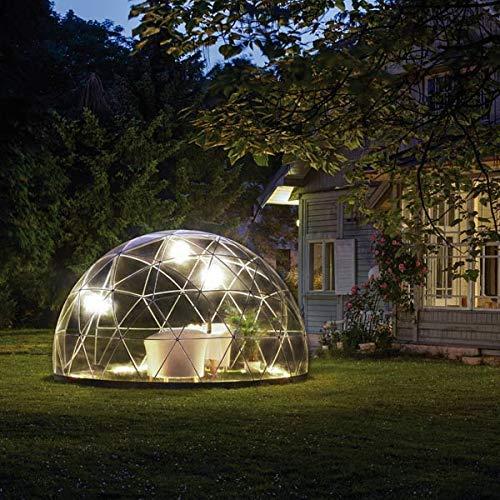 遊び心あふれるアウトドアドームガーデンイグルー標準セットGardenIgloo『温室、展望室、趣味の菜園、子供の遊び場、収納、庭小屋』