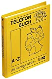 Veloflex 5158000 Telefonringbuch DIN A5, PP-Leinenstruktur, mit 12-tlg. Register A-Z, 4-Ringe, Adressbuch, gelb