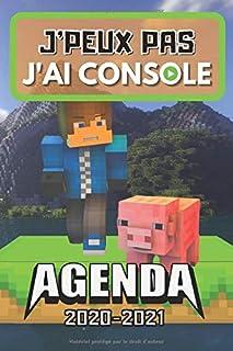 AGENDA SCOLAIRE 2020-2021 J'peux pas j'ai console: Agenda Gamer primaire..