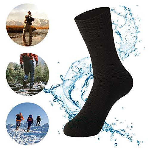 Waterfly Waterproof Socks Breathable Sweat-Absorbing Socks for Men Women Trekking Hiking