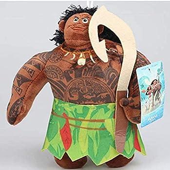N-R Plush Toys Anime Princess Moana Maui Heihei Pua Doll Soft Stuffed Animals Toys for Kids Children 20Cm
