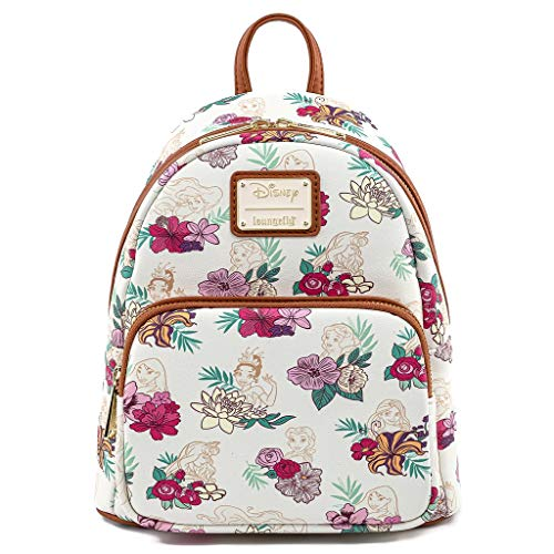Loungefly - Mini Sac A Dos Disney - Princess Floral - 0671803338333