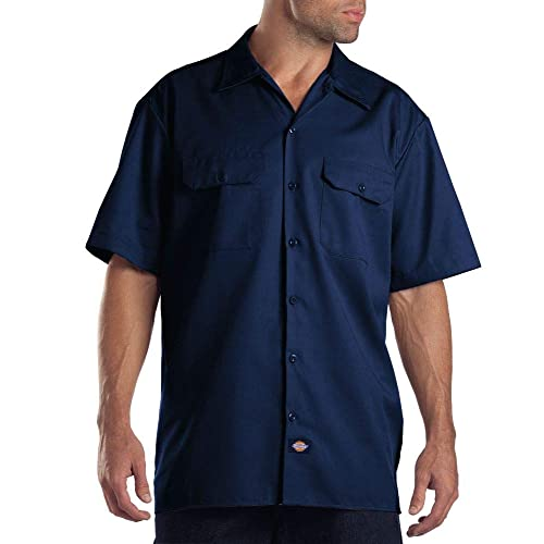 6dee16cab0 Dickies Men's Short Sleeve Work Shirt