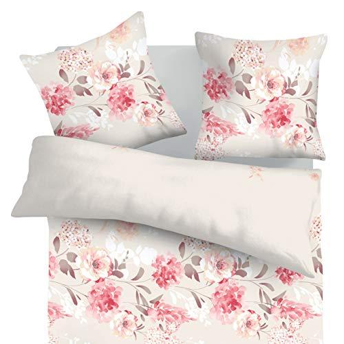 SoulBedroom Tanea 100% Coton Parure de lit (Housse de Couette 200x200 cm & 2 Taies d'oreiller 65x65 cm)