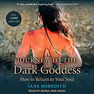 Journey to the Dark Goddess audiobook cover art