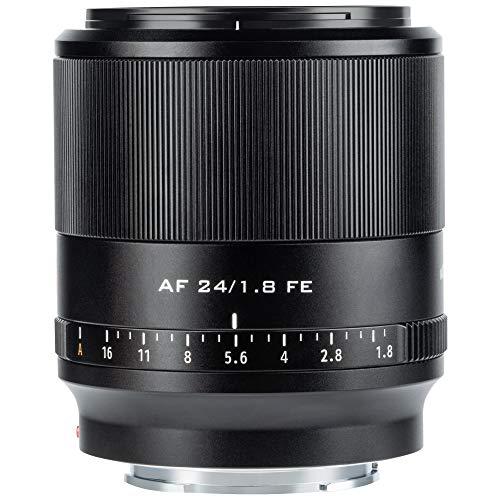 VILTROX AF 24mm F1.8 FE Weitwinkel Festbrennweite Objektiv Autofokus für Sony E Mount (Vollformat, APS-C) Schwarz