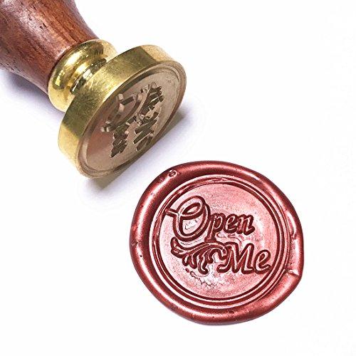 UNIQOOO Arts & Crafts Open Me sello de cera