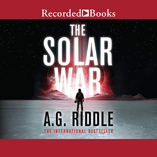 The Solar War audiobook cover art