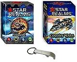 Star Realms VF: Star Realms Deckbuilding + Clolony Wars + 1 abridor de botellas Blumie