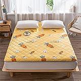 QYYL Colchón de Tatami Dormitorio, Japonés Plegable Colchón Suelo, Comodo futón Estera, Cómodo Transpirable, para...