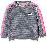 Lego Wear Baby-Mädchen Lwsolar Sweatshirt, Grau (Pink 456), (Herstellergröße: 92)