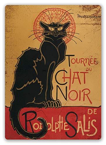 Chat Noir Aristide bruant Zinn Schild Eisen Gemälde Metall Wand Plakette Poster Zum Bar Kaffee Restaurant Schlafzimmer Garage Verein
