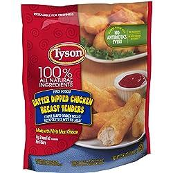 Tyson Batter Dipped Chicken Breast Tenders, 25.5 oz. (Frozen)