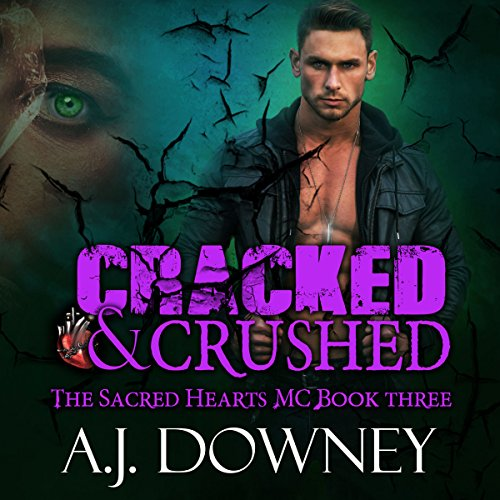 Cracked & Crushed audiobook cover art