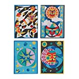 Sand Art Boards - Celestial Designs, 5' x 7' (Pack of 12)