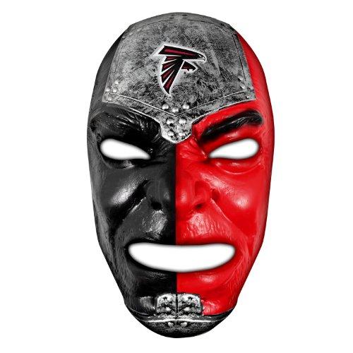 Franklin Sports NFL Atlanta Falcons Fan Face Mask - Team Fan Masks for NFL Football Games and Tailgates - Sports Fan Face Mask - Face Paint Masks