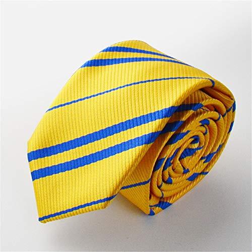 Necktie [Lazos de los hombres] Harry Potter Cosplay Muñeco de grifos Cuervo Cuff Hafflucci Slytherin Negocio Trabajo Caza Ceremonia de boda Ceremonia de entrada Ceremonia de graduación Segunda fiesta