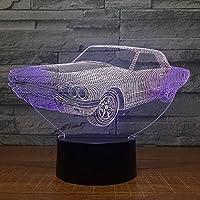 giyiohokカラフルなドラゴンボール超サイヤ人3DLEDナイトライト7色変更タッチタッチUSBパワード点滅ファッションデスクテーブルランプキッズバースデーギフトホームベッドルームデコレーション-N2-N34
