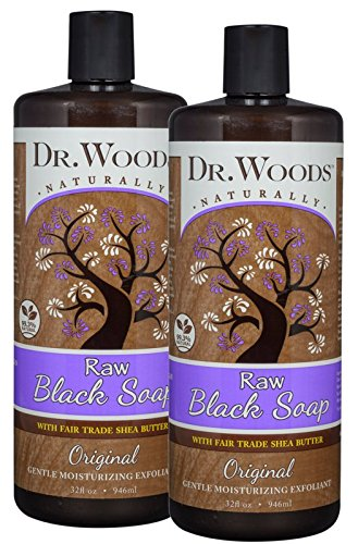 Dr. Woods Black Soap with Shea 32oz (Pack of 2)