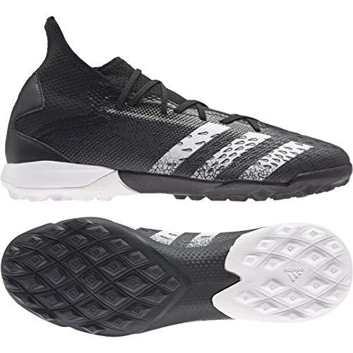 adidas Predator Freak .3 TF, Zapatillas de fútbol Hombre, NEGBÁS/FTWBLA/NEGBÁS, 48 EU