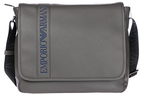 Emporio Armani bolso con bandolera hombre nuevo gris