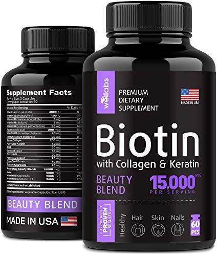Biotin, Keratin