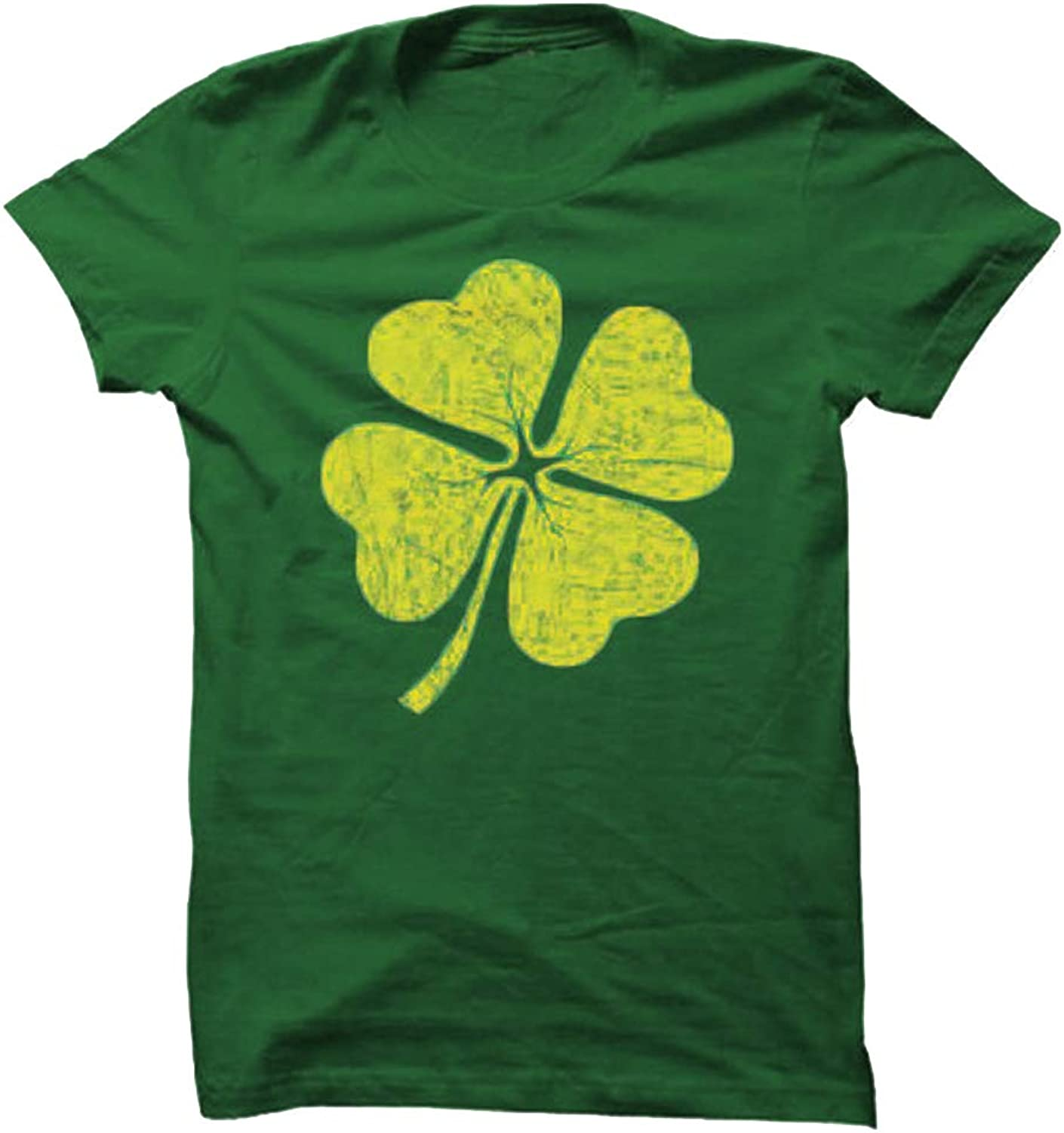 Chulianyouhuo Women's ST. Patrick's Day Shirts Casual Short Sleeve Tops Shamrock Shirt Tops