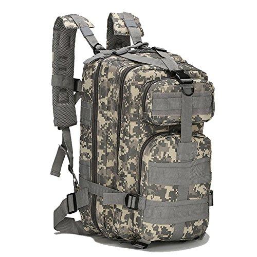 Sac à Dos Tactique, Sac de Randonnée Backpacks Camouflage Militaire Sac d'Alpinisme Camping Voyage Sac Classique(Type 4),25L