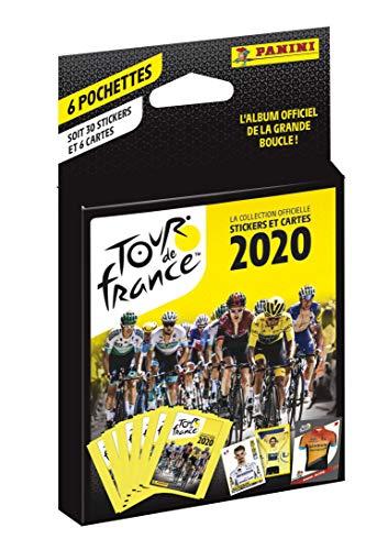 Panini France SA-Tour DE France 2020-Eco-blister de 6 Pochettes, 003993KBF6