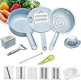 CHENJIA Mandoline Slicer - Cortador de Alimentos, rallador, trituradora - No Hay Gadgets de Cocina BPA, para Cortar Frutas/Verduras