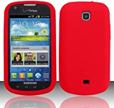 For Samsung Galaxy Stellar 4G i200 (Verizon) Silicon Skin Case - Red SC
