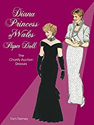 Image: Diana, Princess of Wales | Paper Doll: The Charity Auction Dresses (Dover Royal Paper Dolls), by Tom Tierney (Author). Publisher: Dover Publications (September 23, 1997)