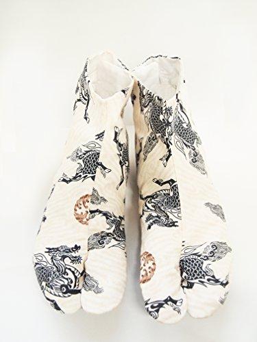 『[武蔵野ユニフォーム]【ポップ足袋 男性向 麒麟】 柄足袋 《091-kirin》 (25.0)』の2枚目の画像