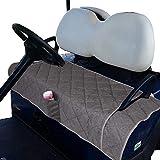TUYUU Golf Cart Seat Covers, Comfortable Golf Cart Seat Blanket, Golf Cart Seat Cushion Covers for 2-Person Seats Club Car, Golf Classic Essential Accessories Golf Cart Seat Blanket/Cover