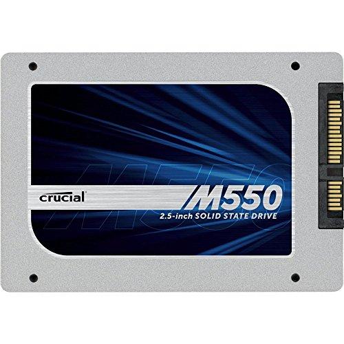 Crucial クルーシャル M550 SATA3 2.5Inch SSD 7mmから9.5mmへの変換スペーサー付【並行輸入】【宅】 (128GB)