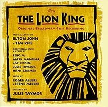 The Lion King 1997 Original Broadway Cast