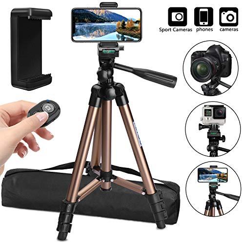 avis appareil pour filmer professionnel Compatible avec les trépieds de smartphone PEYOU (106 cm) et les trépieds d'appareil photo en aluminium…