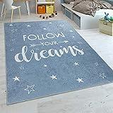 alfombra azul infantil