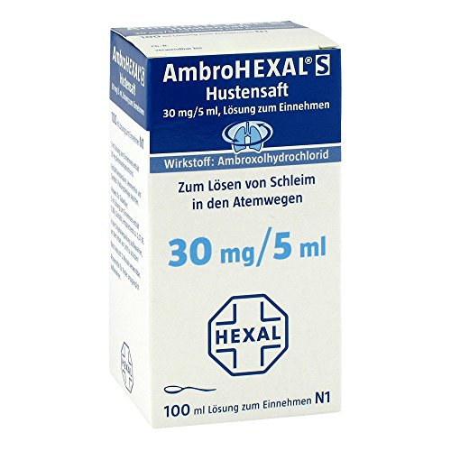 AmbroHEXAL S Hustensaft, 100 ml Saft