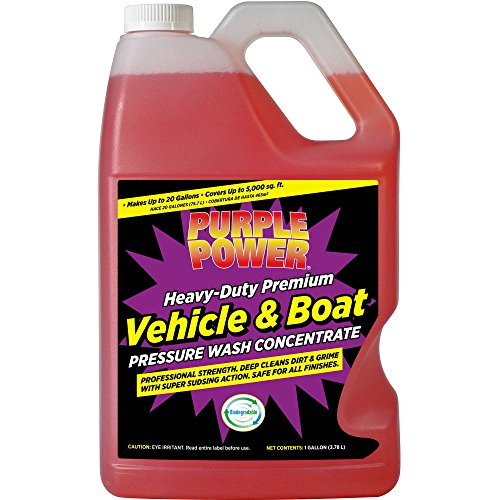 Purple Power Heavy-Duty Vehicle and Boat Pressure Wash Concentrate