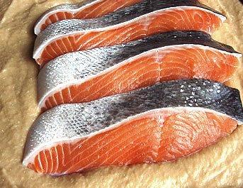 天然造り粕漬詰合せ 鮭3切れ+たら3切れ