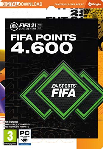 FIFA 21 Ultimate Team 4600 FIFA Points | Codice Origin per PC